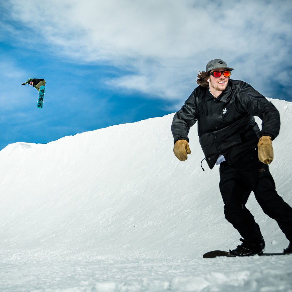 SNOWBOARD PRO CAMP at MAMMOTH, MAY 2019