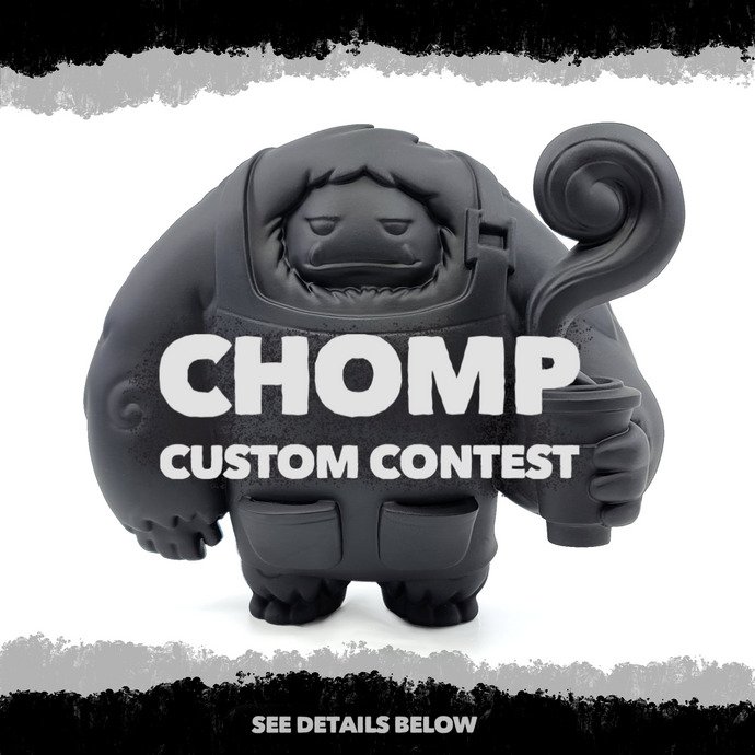 Abominable Toys Newsletter #18 Chomp Custom Contest