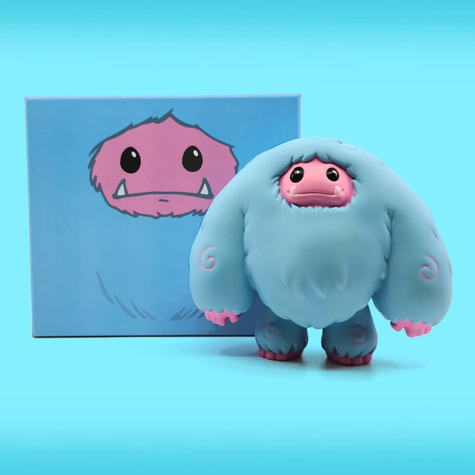 Abominable Toys Newsletter #30 Reverse Cotton Candy, Classic, and Original Chomp Figure Shipping Update and Hope Figure Production Update