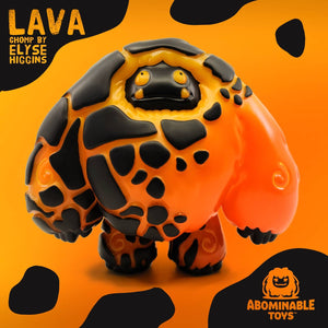 Abominable Toys Newsletter #33 Lava Chomp by Elyse Higgins on Sale Soon!