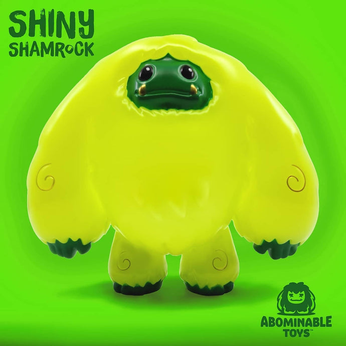 Abominable Toys Newsletter #38 Shiny Shamrock Glow Chomp Figure Live Now!