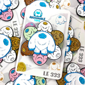Abominable Toys Newsletter #39 Series 1 Chomp Spin Pins Shipping This Week!