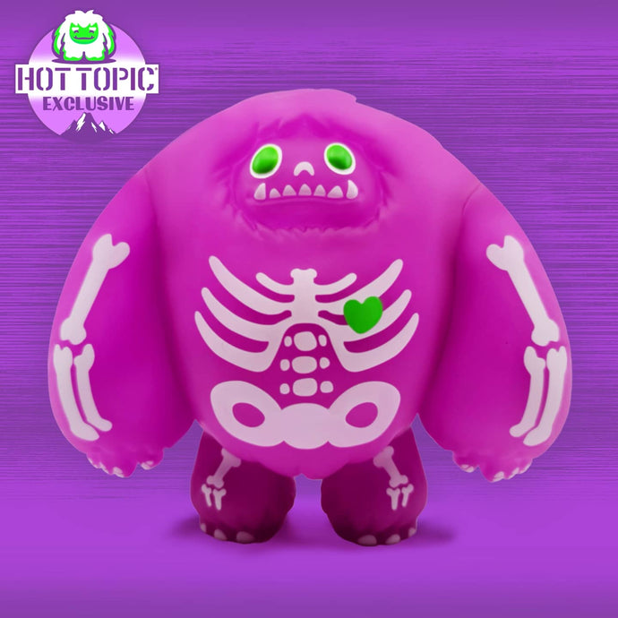 Abominable Toys Newsletter #40 Hot Topic Exclusive Purple Skeleton Chomp Figure