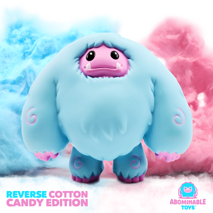 Abominable Toys Newsletter #20 Reverse Cotton Candy Charity Timed Edition Exclusives Available Now!