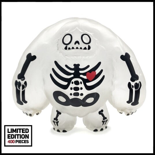 Abominable Toys Newsletter #8 Halloween Skeleton Chomp Figure and Pin Release Along with Classic and Blank Restocks