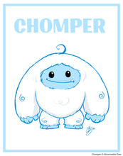 "Limited Edition ""Simple"" Chomper Print"