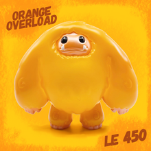 Load image into Gallery viewer, Limited Orange Overload Edition Chomp Vinyl Figure