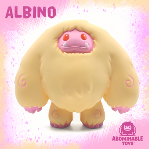 Limited Albino Edition Chomp Vinyl Figure