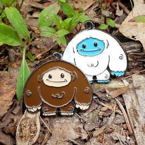 Limited Edition Glow and Bigfoot Chomper Enamel Pin 2 Pack Pre-order Ships in ~2 Months