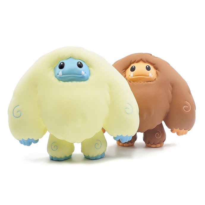 Limited Glow and Bigfoot Edition Chomp Vinyl Figure Bundle With Free Pin 2 Pack Pre-order Ships ~2 Months