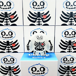 Limited Skeleton Edition Chomp Vinyl Figure