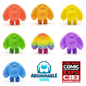 C2E2 Exclusive Limited Gumball Edition Mini Chomp Figure