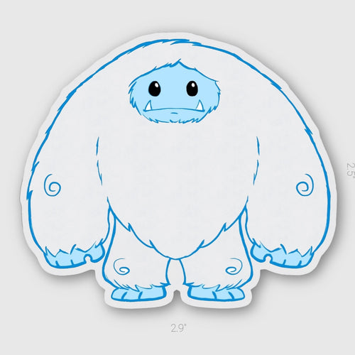 Limited Edition Invisible Chomp Sticker