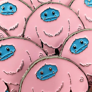 Cotton Candy Limited Edition Enamel Chomp Pin