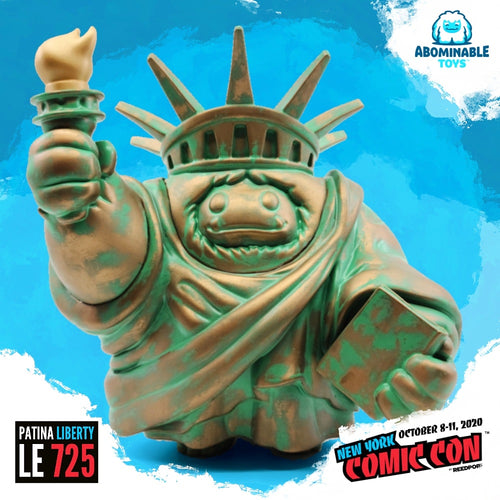 NYCC 2020 Exclusive Limited Edition Patina Liberty Chomp Figure