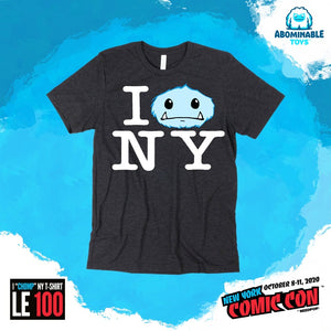 "NYCC 2020 Exclusive Limited Edition I ""Chomp NY T-Shirt"