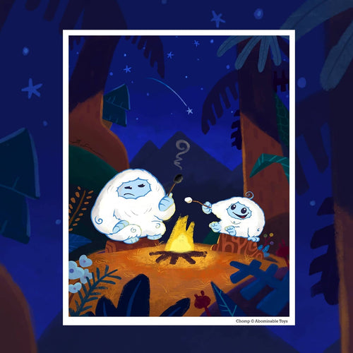 Marshmallow Mishap Limited Edition Print by Benjamin Su