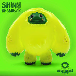 Limited Edition Shiny Shamrock Chomp Vinyl Figure