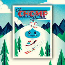 Load image into Gallery viewer, Chomp Mountain Limited Edition Print by Dave Perillo