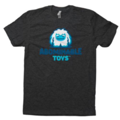 Charcoal Abominable Toys Logo T-Shirt