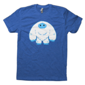 Blue Abominable Toys Chomp T-Shirt Pre-order Cannot Be Cancelled