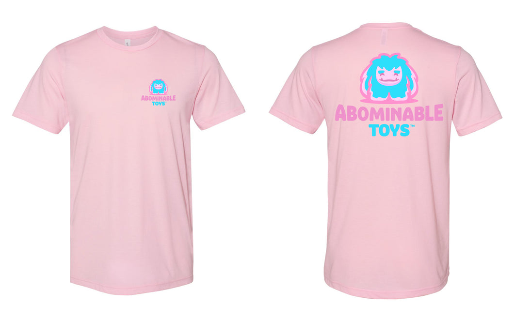 Limited Reverse Cotton Candy Edition Unisex Logo T-Shirt Pre-order Cannot Be Cancelled