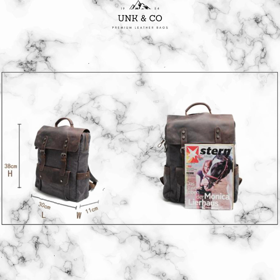 Unk&CO Backpacks - Militar