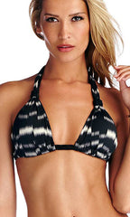 Vitamin A Skyline Ikat Chloë Braid Halter Full (CMP)