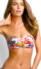 Seafolly Butterfly Coast Bandeau Top (MUL)