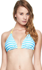 Body Glove Ray Of Light Misty Triangle Slider Top (BLU)