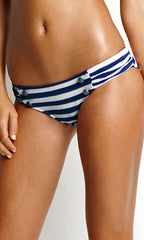 Seafolly Seaview Ruched Side Pant (BLU)