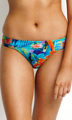 Paradise Seafolly Ruched Side Retro Bottom (MUL)