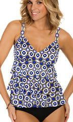 Penbrooke Jewels Triple Tier Tankini (PER)