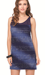 Midnight Ocean Profile By Gottex Dress (NAVY)