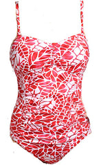 Jag South Pacific Shirred Bandeau 1PC (RED)