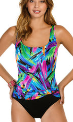 Longitude Wipe Out Sash Tank One-Piece (Long Torso)