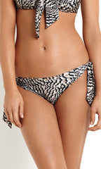 Plume Seafolly Hipster Tie Side Bottoms (Sable)