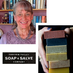 Chagrin soap Arielle sustainable fashion