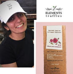 elements truffles ayurveda chocolate Arielle sustainable fashion