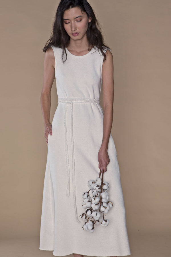 organic cotton dress Arielle sustainable fashion