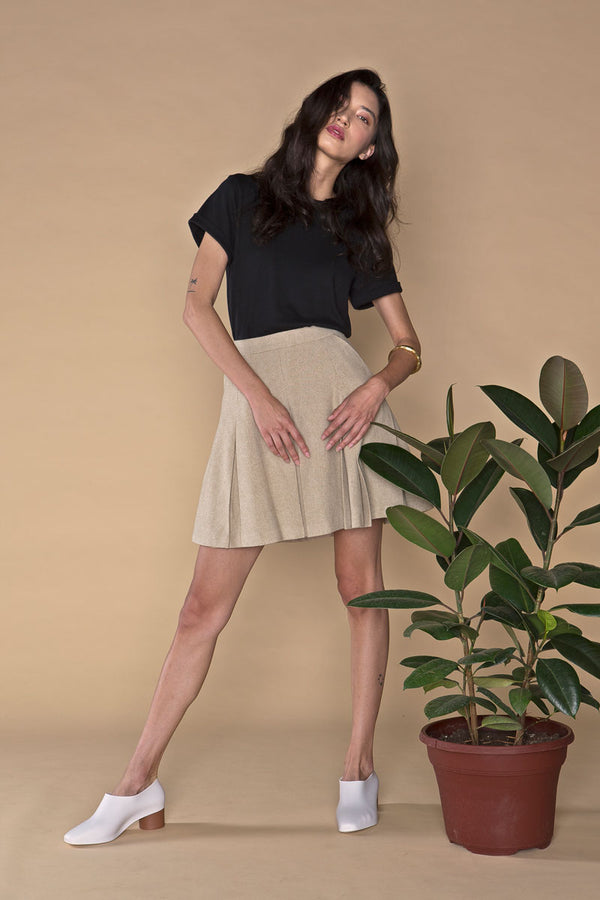 The Movie Skirt, Organic Wool