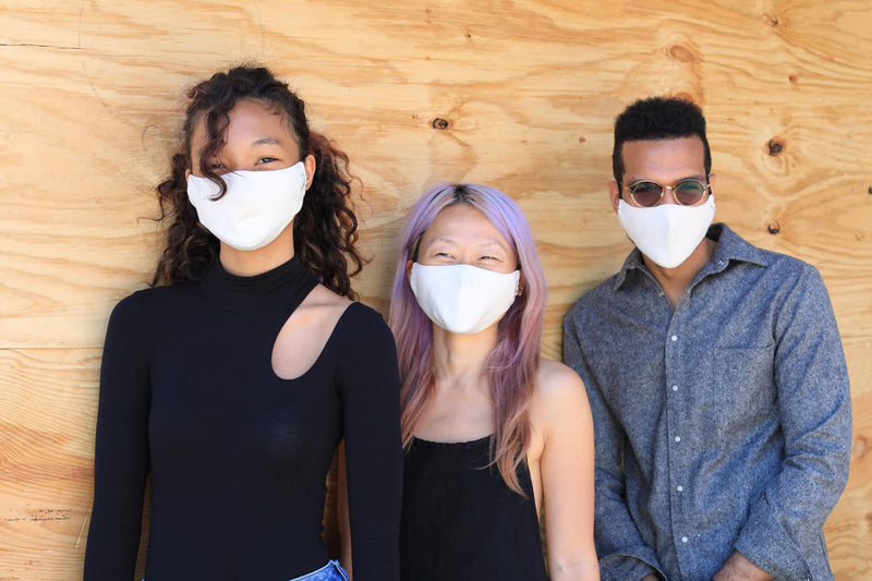 sustainable reusable organic mask