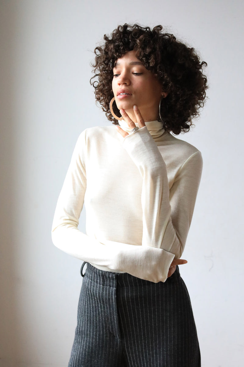 sustainable fashion pacha merino wool turtleneck