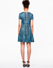OUT IN THE WILD DRESS BLUE MULTI -  - Betsey Johnson
