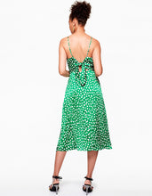 ALL THE DOTS DRESS GREEN MULTI - APPAREL - Betsey Johnson