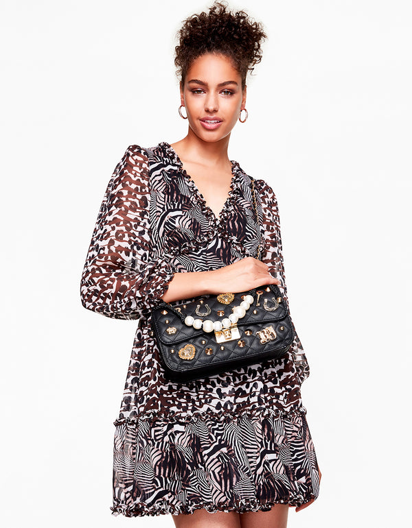 QUEEN OF THE JUNGLE DRESS ANIMAL - APPAREL - Betsey Johnson