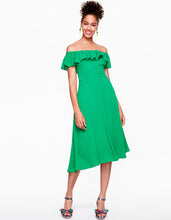 SWING TIME DRESS GREEN - APPAREL - Betsey Johnson