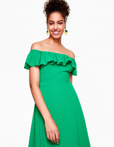 SWING TIME DRESS GREEN