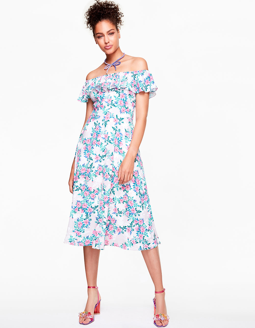 OFF THE CHARTS DRESS MULTI - APPAREL - Betsey Johnson