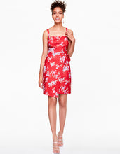 CHERRY BLOSSOM DRESS RED MULTI - APPAREL - Betsey Johnson